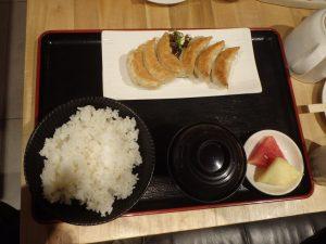 メガモールにある『大阪王将のコシヒカリ定食』