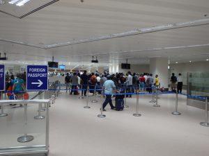マニラ国際空港入国審査ゲート