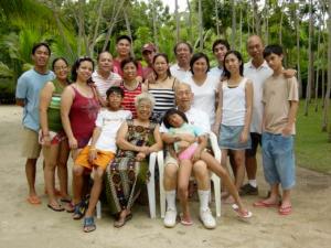 フィリピン家族の肖像