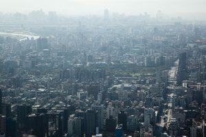 台北101展望台からの眺め