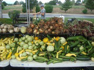 農場で直接売られている野菜