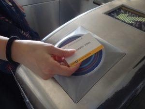 自動改札口チェッカー