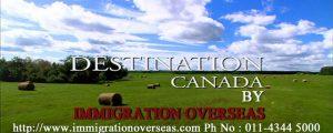 カナダへの移民宣伝ポスター