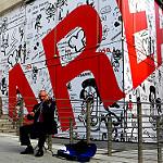 Areaと書かれた壁