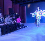 北京で開かれたファッションショー