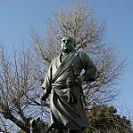 薩摩人西郷隆盛の銅像