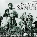 7人の侍のポスター
