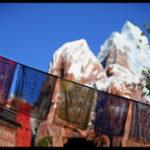 エベレスト山の祈祷旗