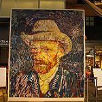 ゴッホの自画像のコピー写真