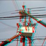 電柱の工事