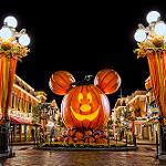 ディズニーランドのハロウィンイベント