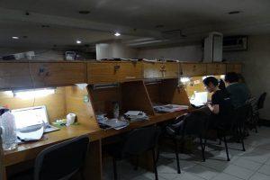 CNSIIの自習室