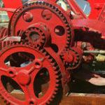 歯車のついた機械