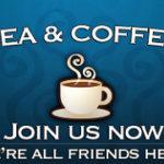 Join usと呼びかけるカフェの看板