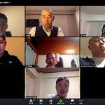 日本のオンライン会議の様子