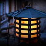 灯篭の灯り