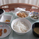 入院患者の食事