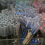 無印のこすって字を消せるボールペン