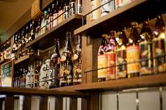 ボトルキープされている酒類