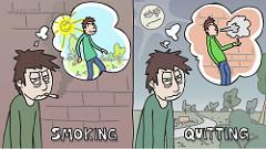 Quit Smokingの絵