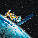 地球を回る人工衛星