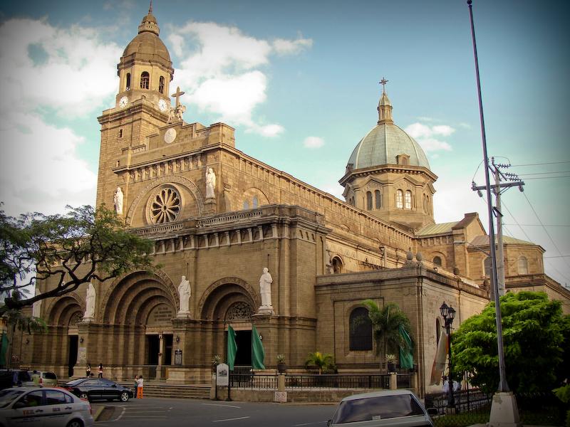 マニラ大聖堂正面