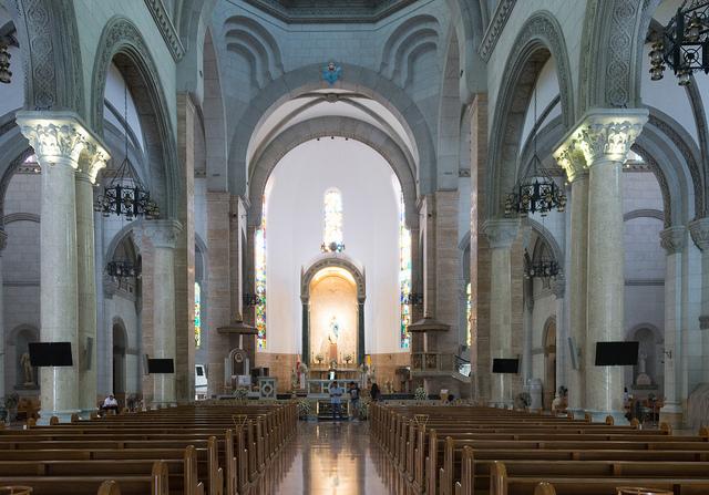 マニラ大聖堂内部