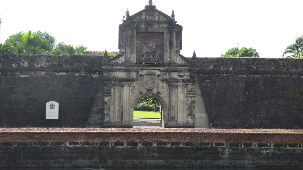 サンチャゴ要塞の防壁