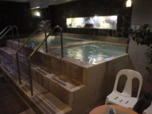 サウナ富士のお風呂場