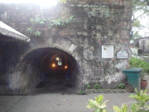 サンチャゴ要塞の地下壕