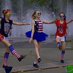 タップダンスを踊る女性たち