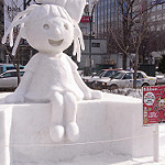 札幌雪まつりの雪の彫刻