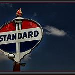 Standardと書かれた立て看板