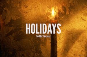 Holidaysと書かれたポスター