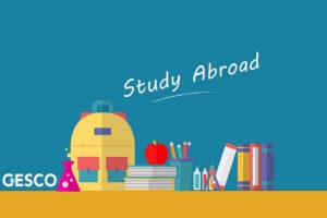 Study Abroadと書かれたイラスト