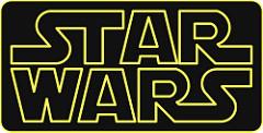 Star Warsのタイトルロゴ