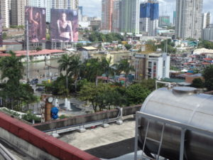 MRTグァダルーペ駅から見たグァダルーペフェリー駅