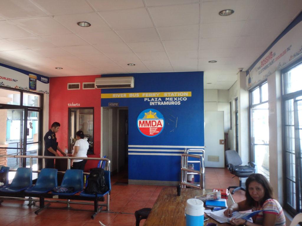プラザメキシコの待合室