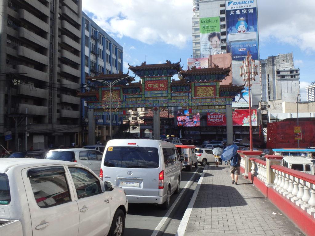 中華街の南側の大門