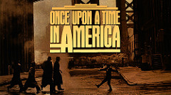 Once upon a time in Americaと書かれた映画のポスター