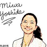 ドリームカムトゥルーのボーカル吉田美和さんのイラスト