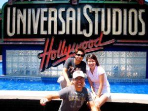 ロスアンゼルスのユニバーサルスタジオ