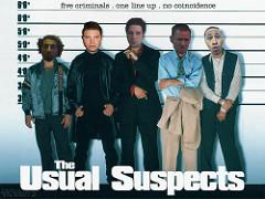 映画The usual suspectのパロディ写真