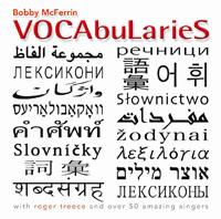 日本語、韓国語、中国語、ロシア語、アラブ語など各国の語彙という意味の単語の羅列