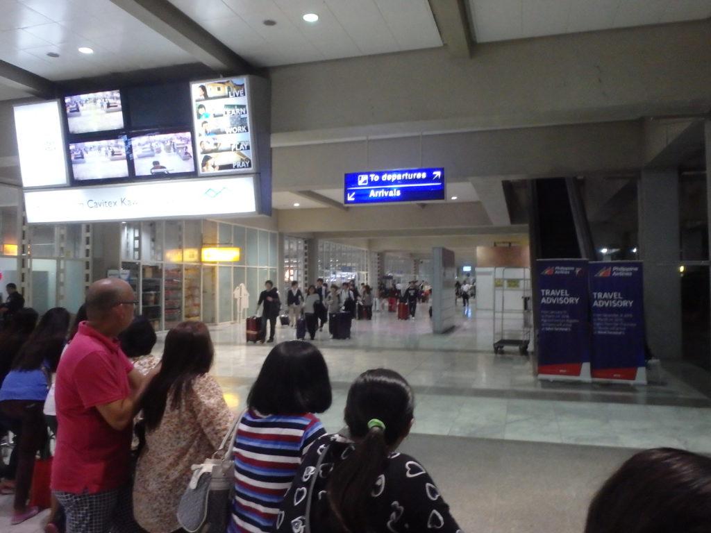 マニラ空港ターミナル2歓迎口