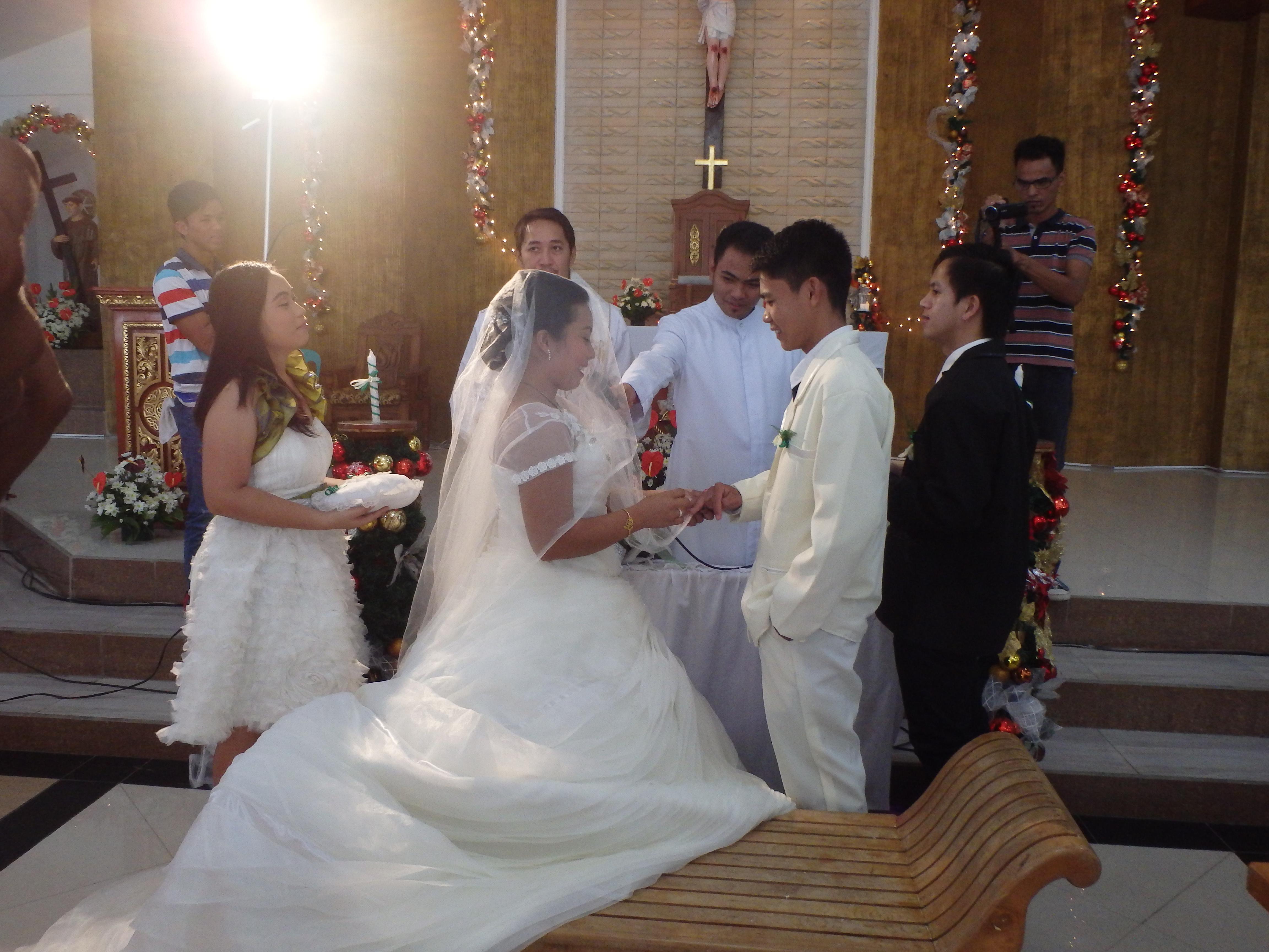 フィリピンの結婚式に参加した
