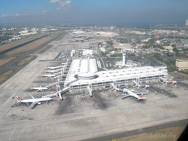 ターミナル1の滑走路