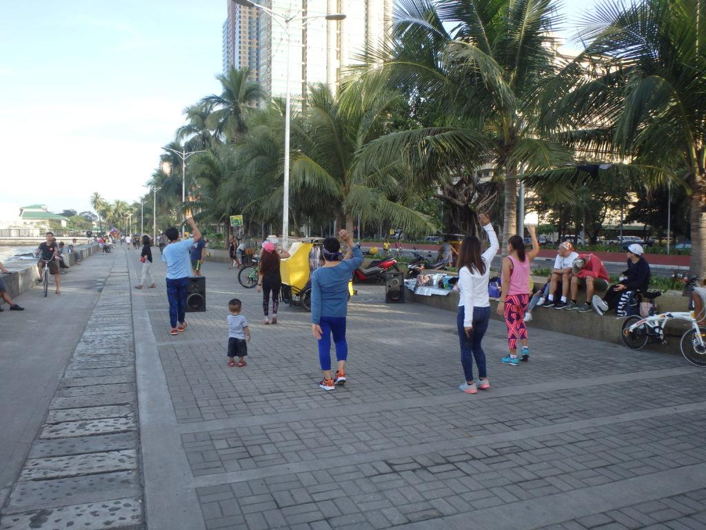 朝の体操ダンス