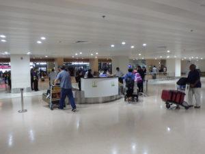 マニラ空港の税関