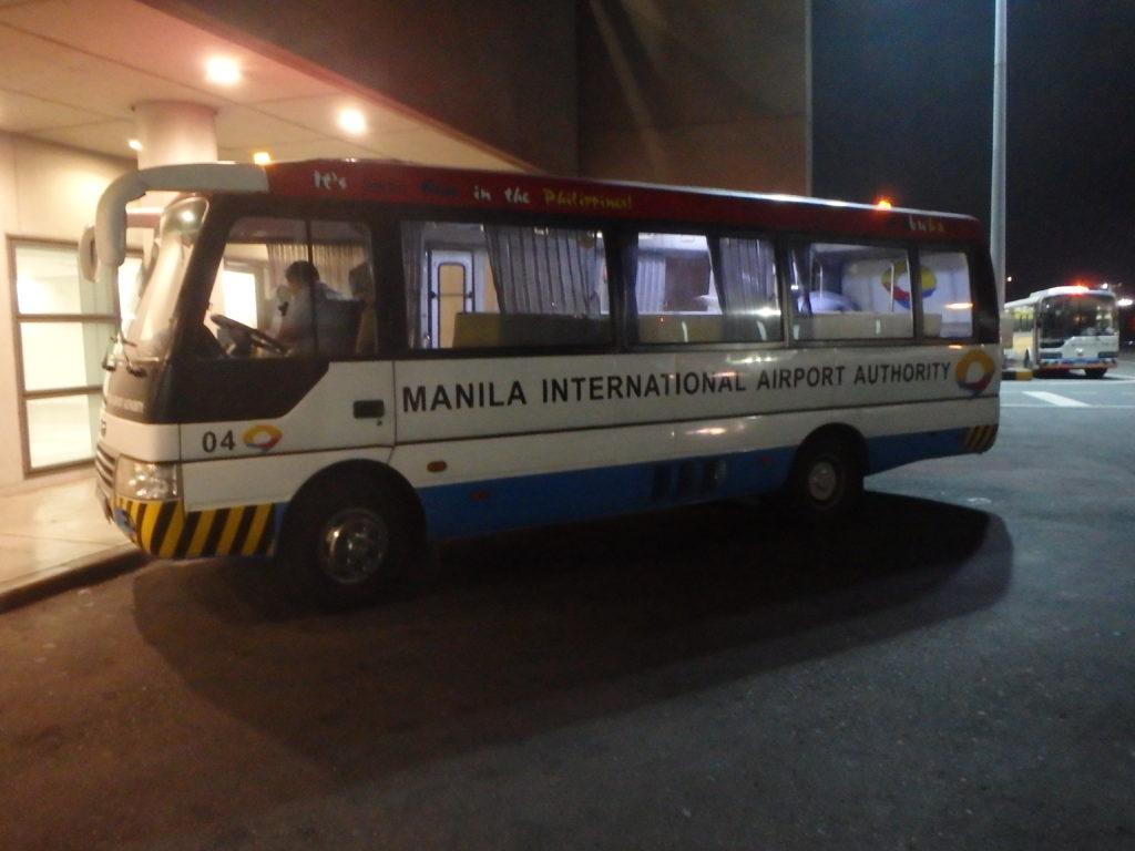 ターミナル3発着の無料シャトルバス